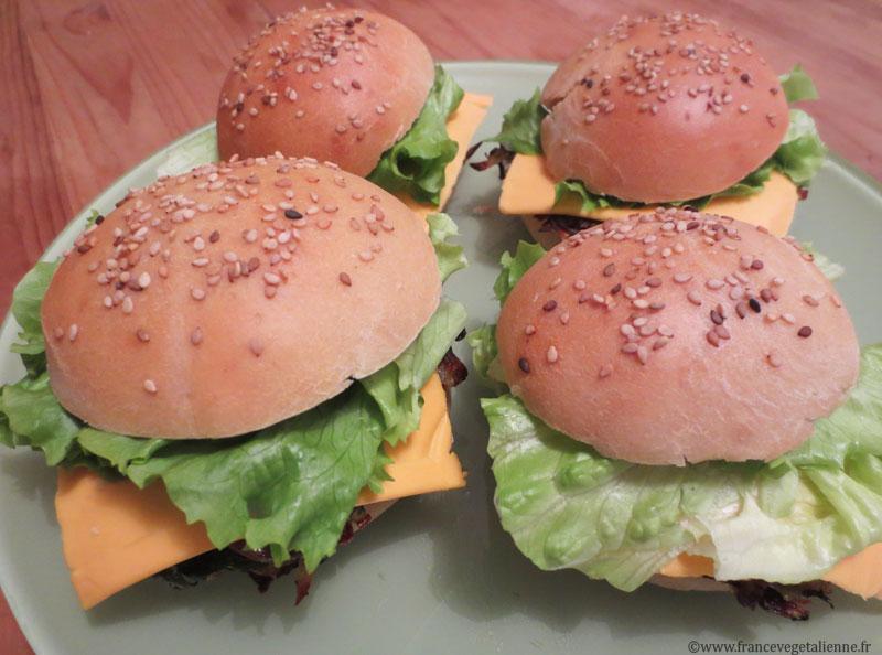 Veggie-burgers ardéchois