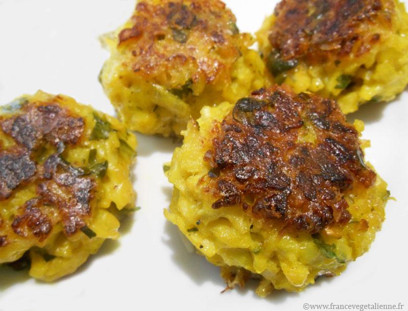 Boulettes de chou-fleur (végétalien, vegan) — France ...