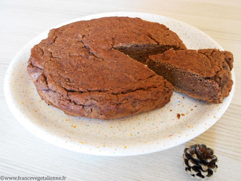 Moelleux à la crème de marron sans gluten