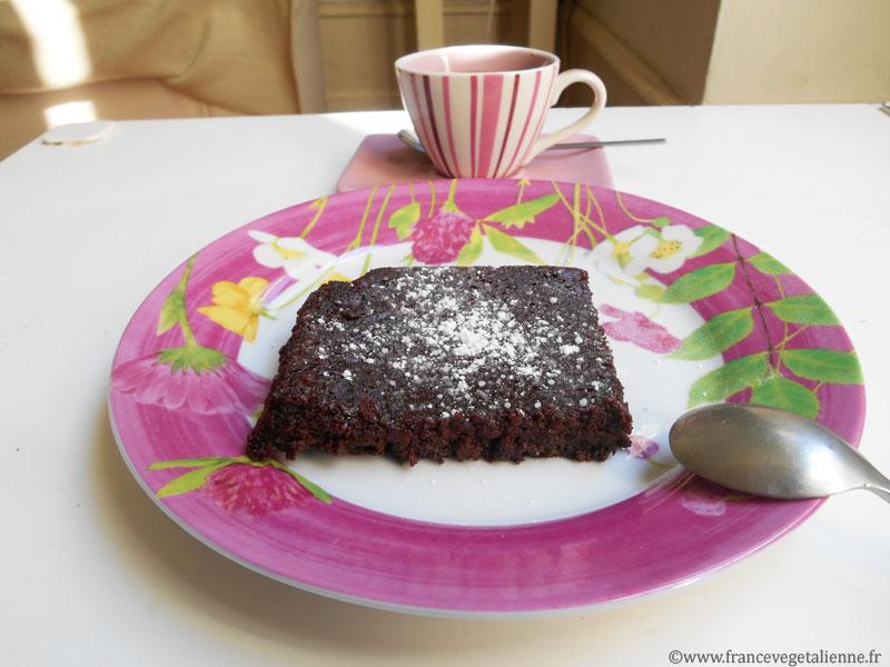 Fondant au chocolat (sans oeuf)