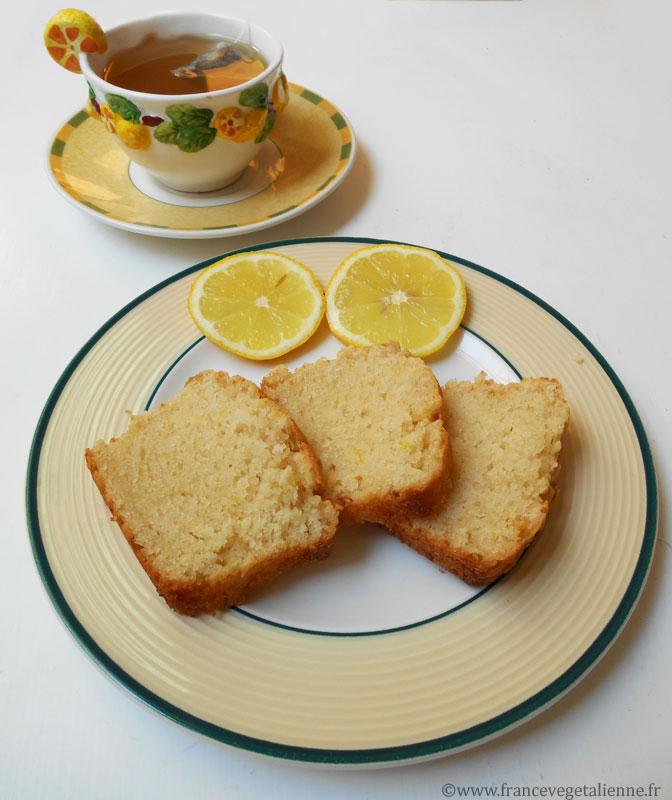 Cake au citron (végétalien)