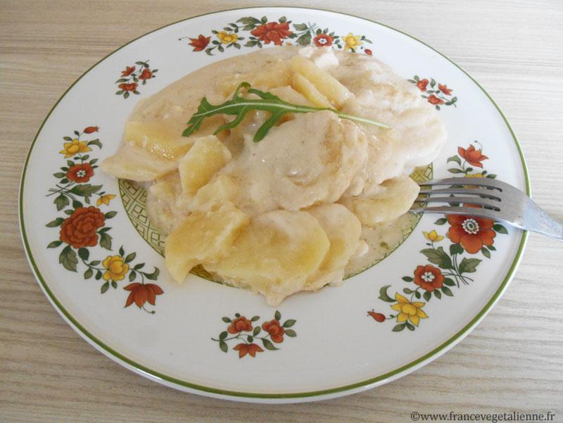 Patia (gratin aux pommes de terre, recette végétalienne)