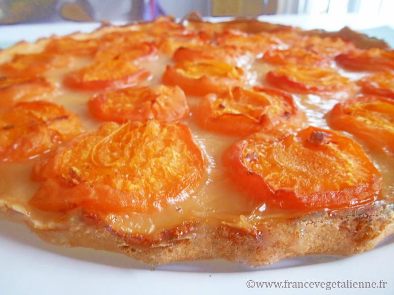 Tarte aux abricots végétalienne