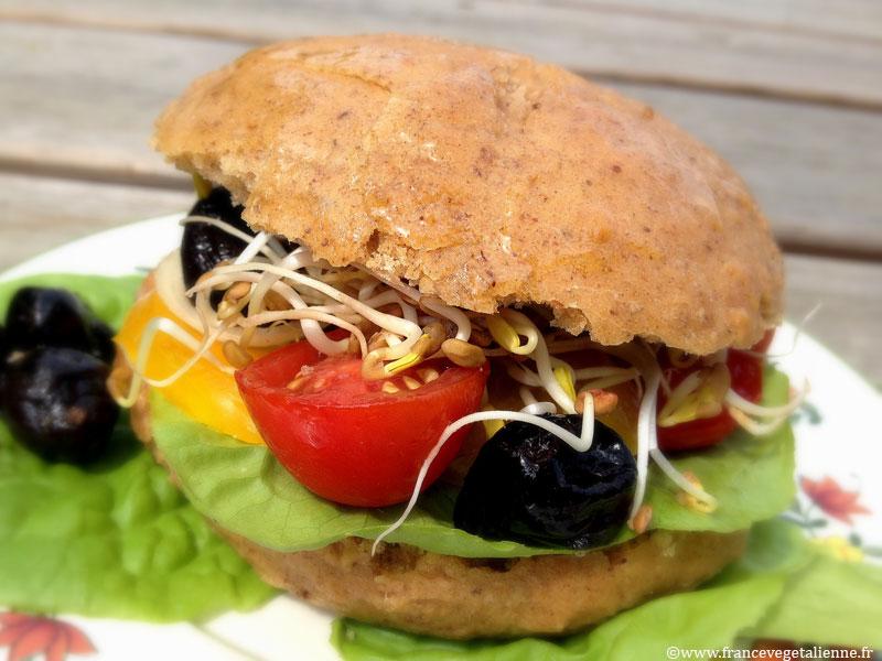 Pan bagnat (vegan, sans gluten)