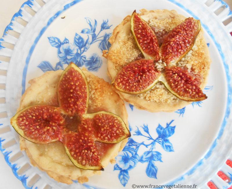 Tatrelettes aux figues (vegan)