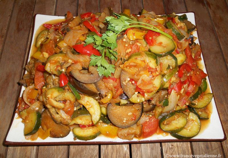 Ratatouille (recette végé)