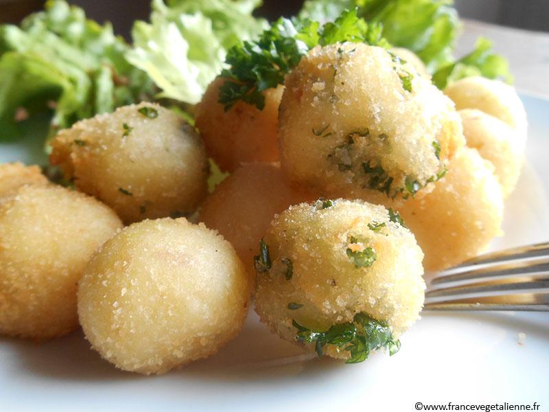 Pommes noisette (recette végane)