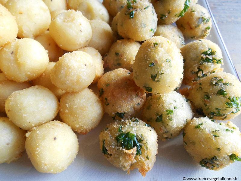 Pommes noisette (sans oeuf)