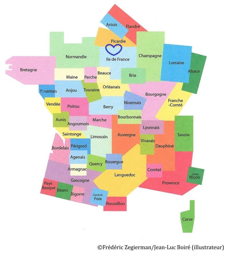 Spécialité d'Ile de France et de Picardie
