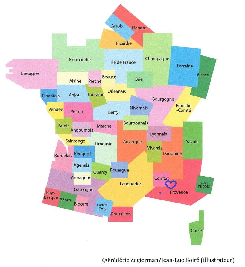 Spécialité du Comtat Venaissin et de Provence