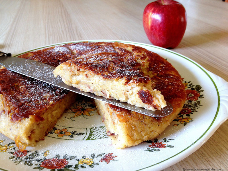 Matefaim aux pommes (vegan,sans gluten)