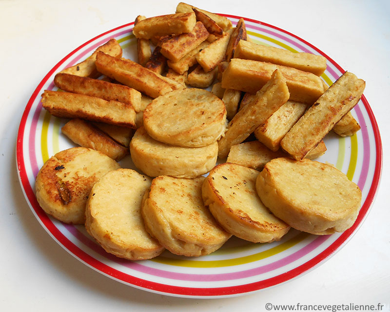 Panisse (beignets de pois chiche)