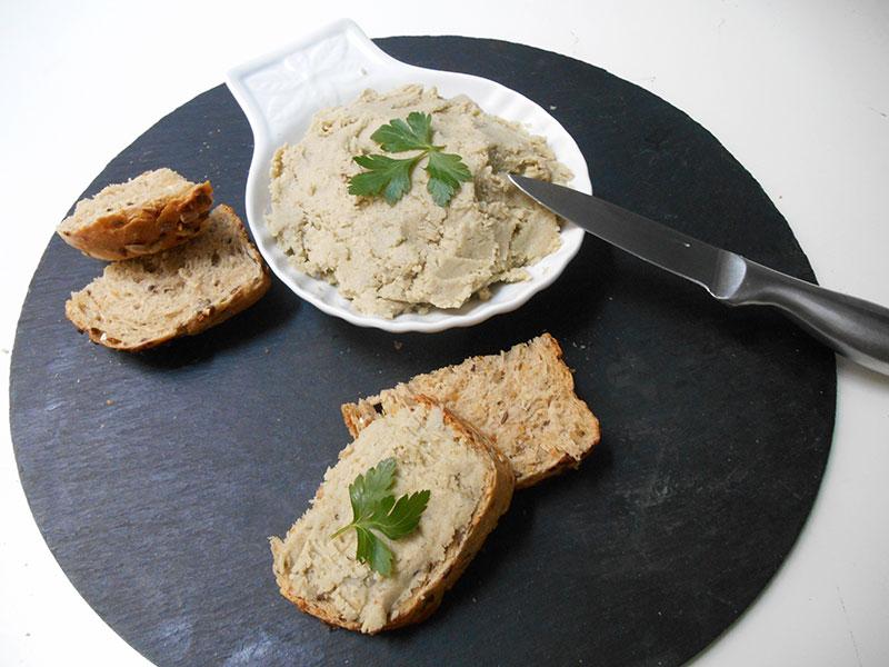 Tartinade d'artichaut (recette végane)