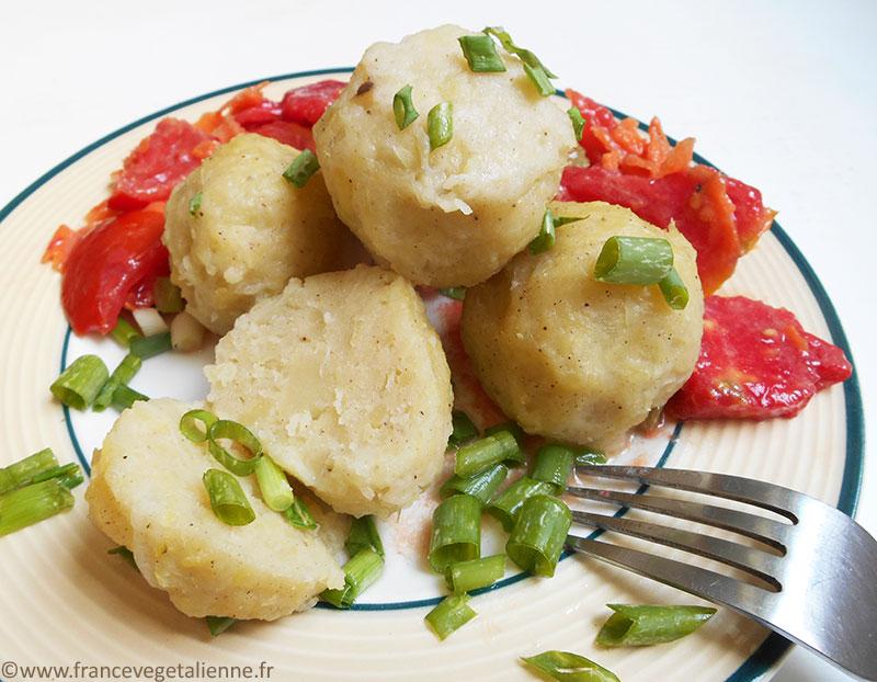 Knödel (boulettes de pomme-de-terre)