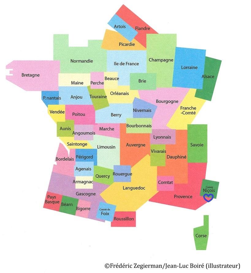 Spécialité de Provence et du Pays niçois