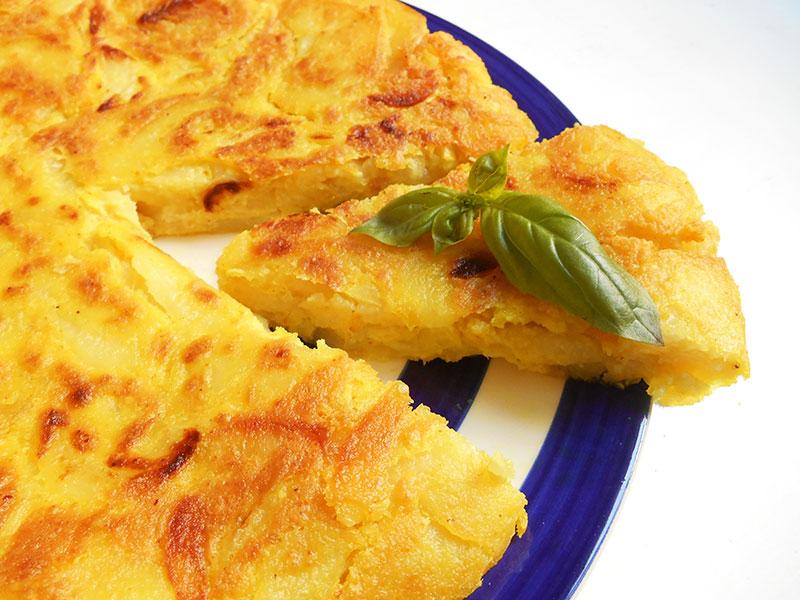 Tortilla (omelette espagnole, recette végane)