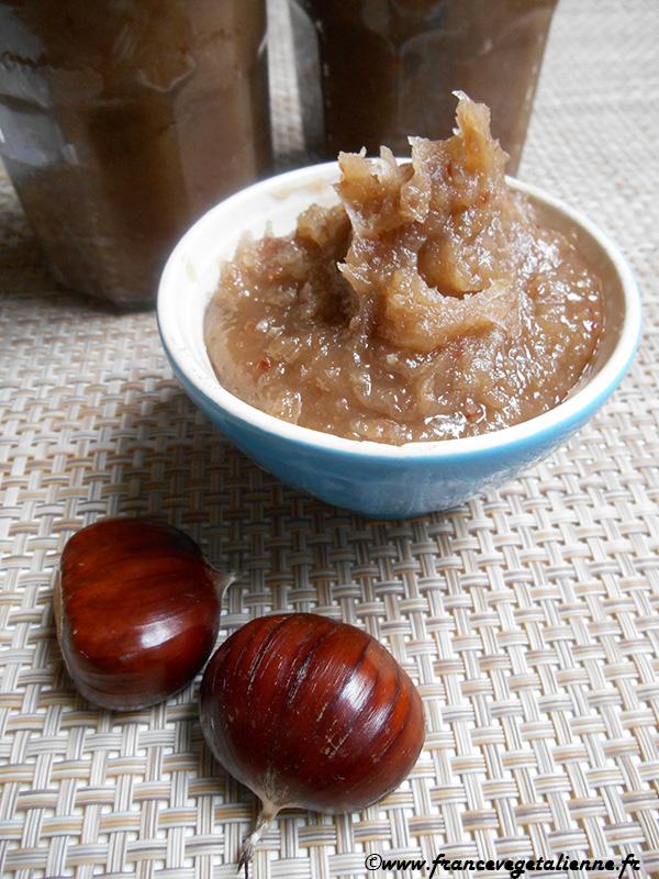 Crème de marron (recette végétalienne)
