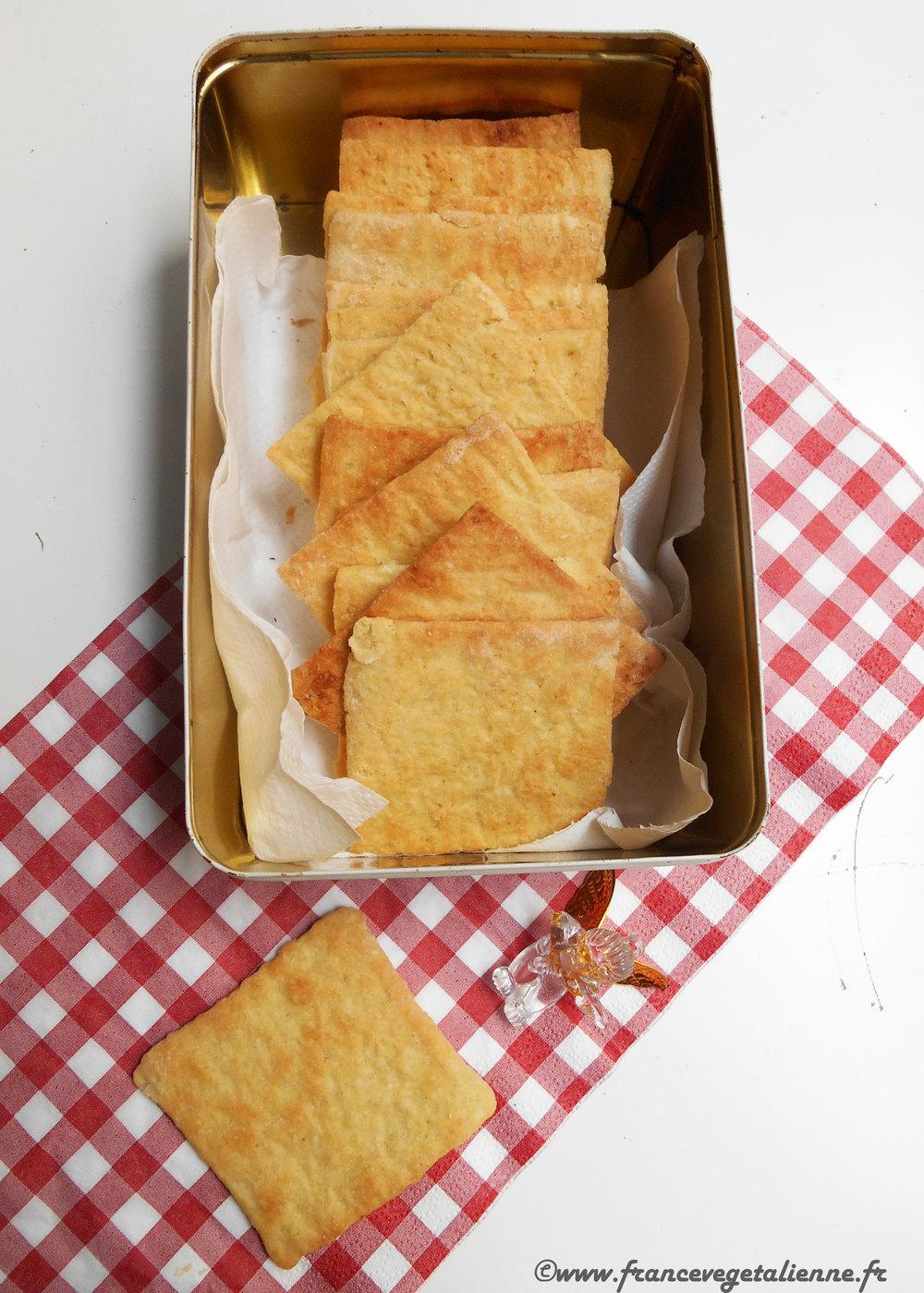 Biscuits sablés d'Auvergne (végétalien)