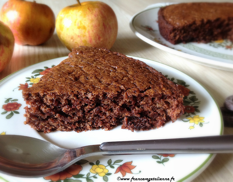 Gâteau vegan au chocolat sans gluten