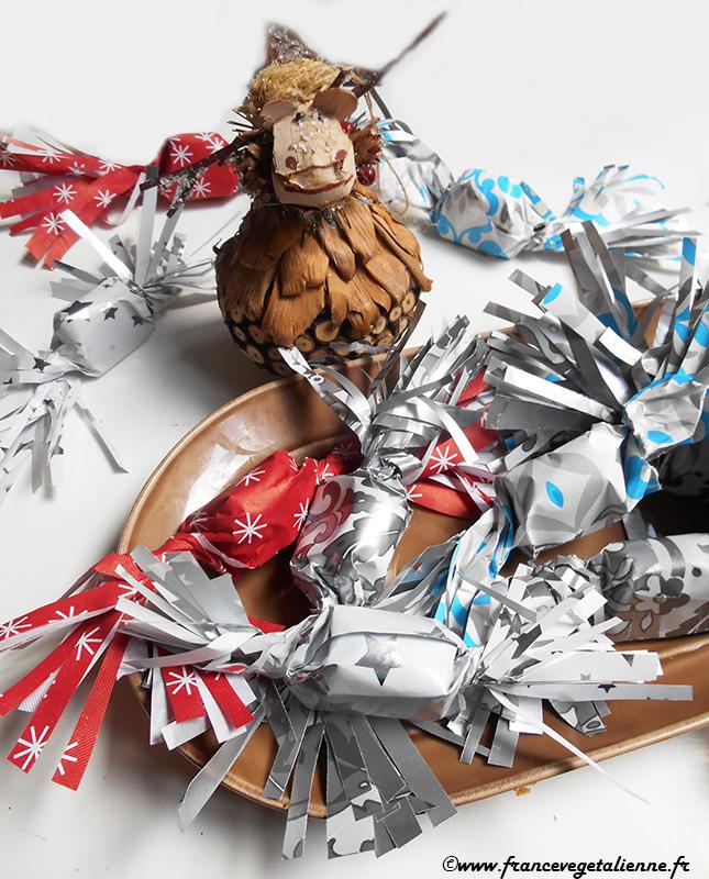 Papillotes au chocolat (vegan, sans lactose)
