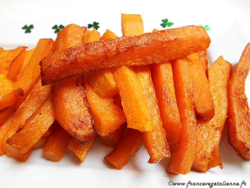 Frites de courge (recette végane)