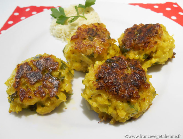 Boulettes De Chou Fleur Vegetalien Vegan France Vegetalienne