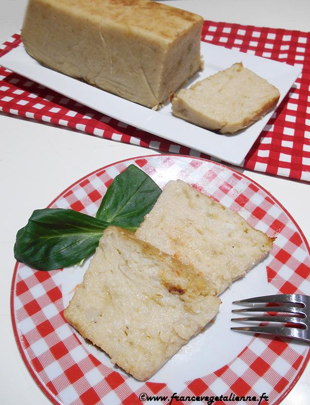 Terrine de chou-fleur (sans oeuf, sans lactose)