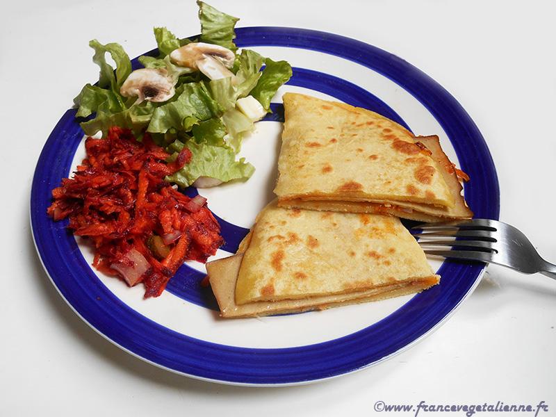 Taloa (galette de maïs; recette végétalienne)