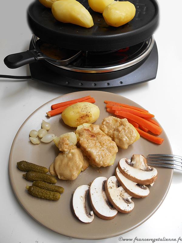 raclette v g talien vegan france v g talienne. Black Bedroom Furniture Sets. Home Design Ideas