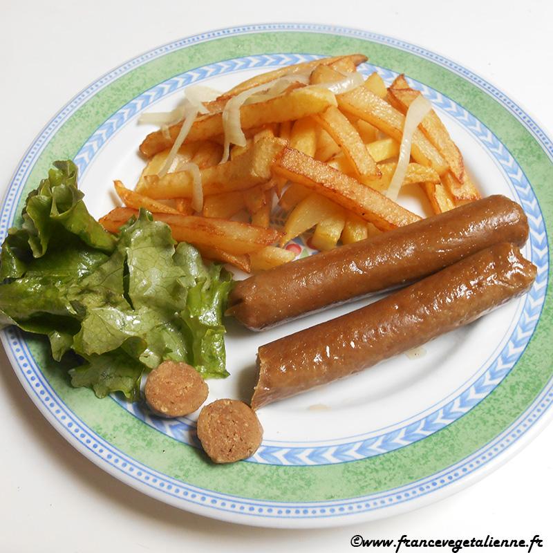 Saucisses knack (recette végétarienne, végane)