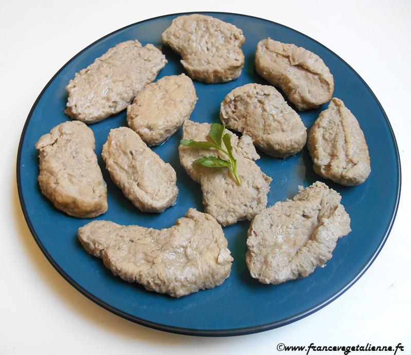 Seitan blanc (recette végane)