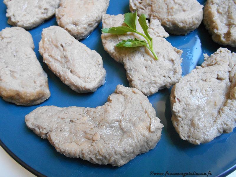 Seitan blanc (vegan)