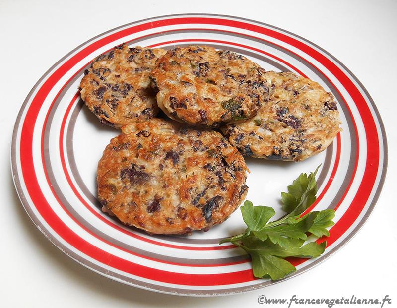 Steaks de haricots rouges (végétarien, vegan) — France ...
