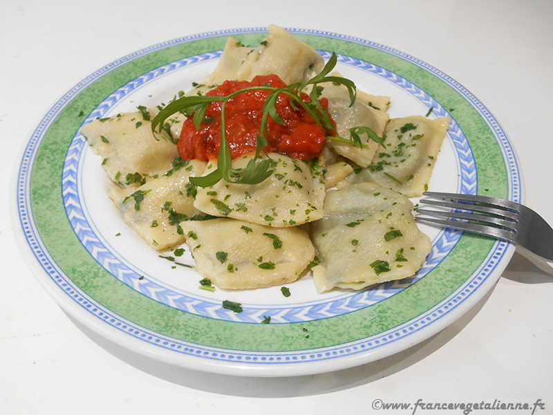 Raviolis niçois (vegan)