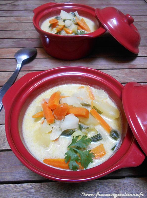 Waterzoï de légumes (recette végane)
