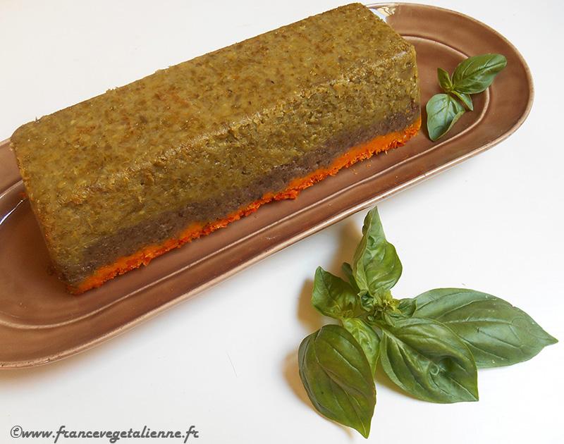 Terrine de légumes (recette végane)