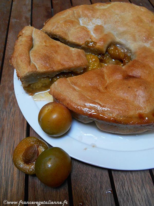 Pâté aux prunes angevin (recette végane)