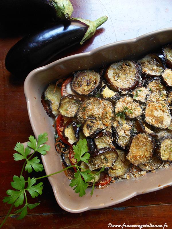 Gratin d'aubergine à la languedocienne (vegan)