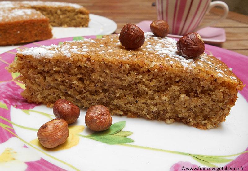 Noisettine ou gâteau aux noisettes