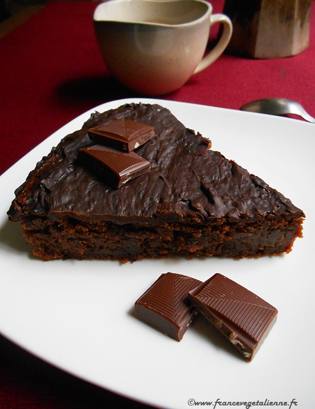 Reine de Saba (gâteau au chocolat, recette végane)