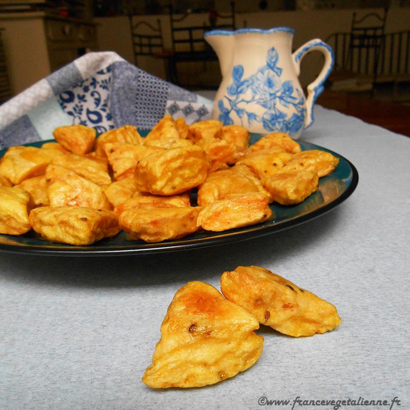 Echaudés de Carmaux (biscuits à l'anis; recette végane)