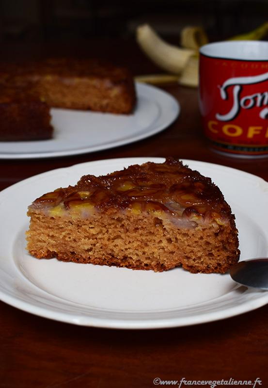 Gâteau à la banane (recette végane)