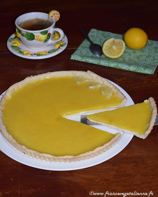 Tarte au citron (recette végane)