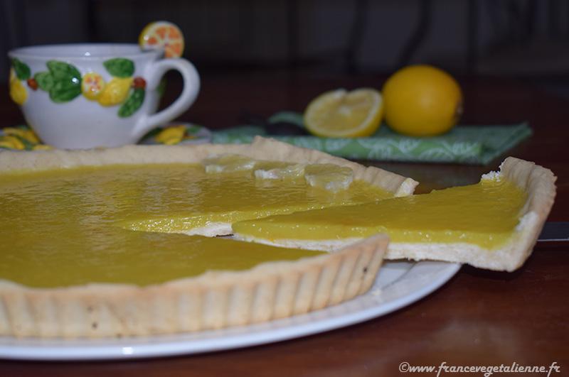 Tarte au citron (vegan)