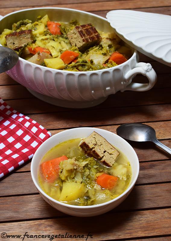 Soupe aux choux (recette végane)