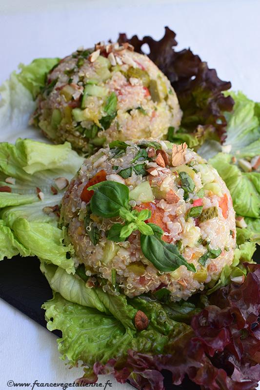 Salade de quinoa (recette végane)
