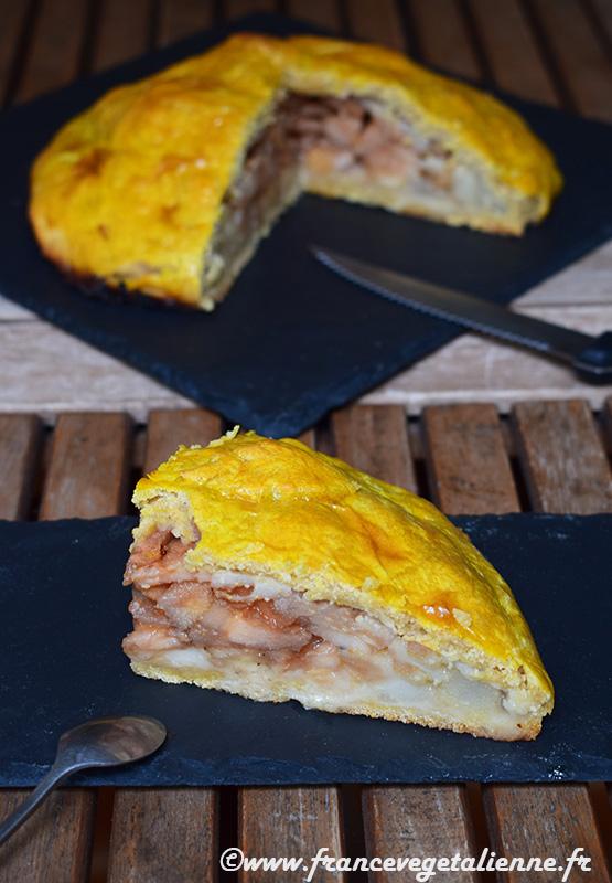 Poirat (gâteau à la poire; vegan)