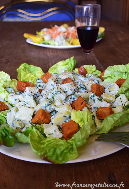 Salade cauchoise (vegan)