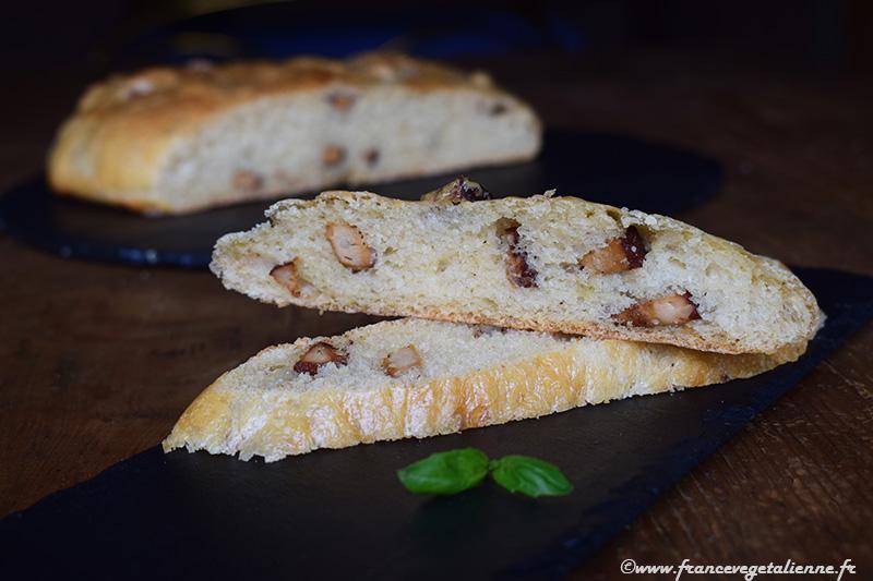 Pompe aux grattons (recette végane)
