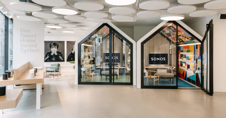 sonos environmental design motion retail activations